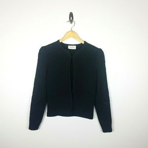 St. John by Marie Gray Vintage Sweater Small Black